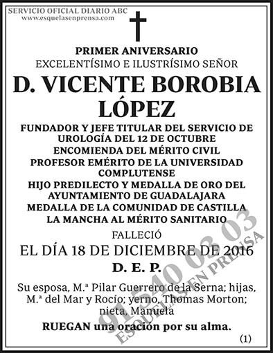 Vicente Borobia López